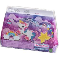 AQUABEADS Unicorn Decorators Pouch Set Over 500 Beads 31856