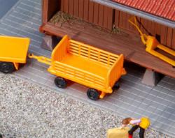 Faller Baggage Trolleys Orange (2) Kit III FA180991 HO Gauge
