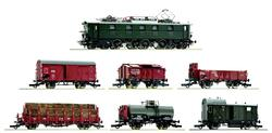 Roco DRG E52 22 Electric Freight Train Pack II (DCC-Sound) RC61492 HO Gauge
