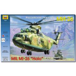 ZVEZDA 7270 Mil Mi-26 Soviet Helicopter Aircraft Model Kit 1:72