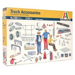 ITALERI Truck Accessories II 720 1:24 Model Kit Trucks