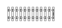 PIKO G-Track (G-SB280) Sleeper Strip 280mm G Gauge 35231