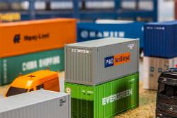 FALLER P&O Nedlloyd 20' Container V HO Gauge 180824