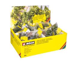NOCH Deciduous/Conifer (100) Classic Tree Retailer Pack HO Gauge Scenics 25952