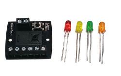 Train Tech LED Lighting Controller - Quad N/HO/OO Gauge TTLFX6