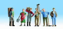 NOCH Wine Growers (6) Figure Set HO Gauge Scenics 15614