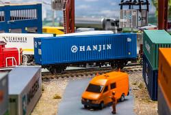 FALLER Hanjin 40' Hi Cube Container V HO Gauge 180842