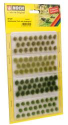 NOCH Light/Dark Green Grass Tufts 6mm (104) HO Gauge Scenics 07127