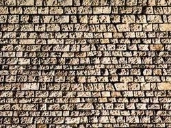 NOCH Cut Quarrystone Wall Card 32x15cm HO Gauge Scenics 57560