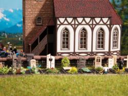 NOCH Gravestones (10) Laser Cut Minis Kit HO Gauge Scenics 14211