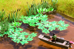 NOCH Lotus Flower Laser Cut Minis Kit HO Gauge Scenics 14114