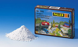 FALLER Roadway and Terrain Knifing Filler (500g) HO Gauge 180500