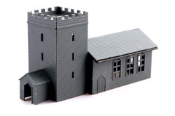 Kestrel Church with Porch Kit N Gauge GMKD04