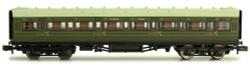 Dapol Maunsell SR 1st Class Coach Lined Green 7670 N Gauge DA2P-012-004