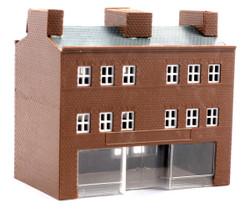 Kestrel Three Storey Town Shop Kit N Gauge GMKD28