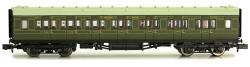 Dapol Maunsell SR Composite Coach Lined Green 5140 N Gauge DA2P-012-154