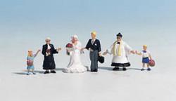 NOCH Wedding Group (6) Figure set HO Gauge Scenics 15860