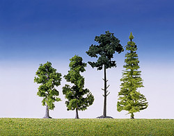 FALLER Mixed Forest Trees 90-150mm (15) HO Gauge Scenics 181495