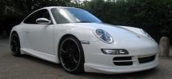 NSR Porsche 997 RSR Body Kit White AW King EVO 21k NSR1072AW