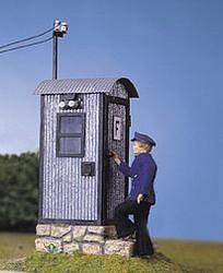 Pola Trackside Telephone Box Kit G Gauge PO330916