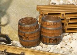 Pola Wooden Barrels (2) Kit G Gauge PO333211