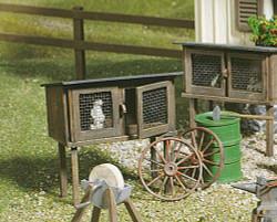 Pola Rabbit Hutch Kit G Gauge PO333209