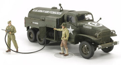 TAMIYA 32579 US Airfield Fuel Truck 1:48 Military Model Kit