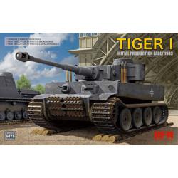 Ryefield Models 5075 Tiger I Initial Production 1:35 Plastic Model Tank Kit