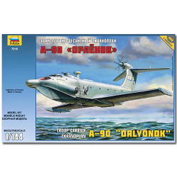 ZVEZDA 7016 Ekranoplan A-90 Aircraft Model Kit 1:144