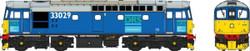 Heljan Class 33 029 DRS Blue OO Gauge Diesel Model Train HN3459