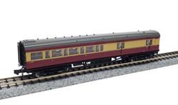 Dapol Maunsell BR Brake 3rd Class Coach Crimson/Cream 3231 N Gauge DA2P-012-654