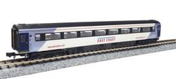 Dapol Mk3 1st Class Coach East Coast 41150 N Gauge DA2P-005-821