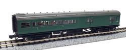 Dapol Maunsell BR Brake 3rd Class Coach SR Green 3220 N Gauge DA2P-012-355