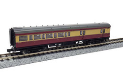 Dapol Maunsell BR Brake 3rd Class Coach Crimson/Cream 3226 N Gauge DA2P-012-653
