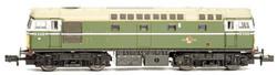 Dapol Class 26 D5316 BR Green Headcode N Gauge DA2D-028-001