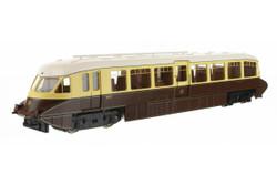 Dapol Streamlined Railcar GWR Lined Choc/Cream 10 OO Gauge DA4D-011-006