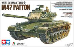 Tamiya 37028 West German Tank M47 Patton 1:35 Plastic Model Kit