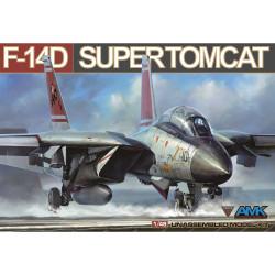 Avantgarde Model Kits AMK88009 Grumman F-4D Tomcat 1:48 Plastic Model Aircraft Kit