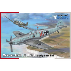 Special Hobby 72454 Messerschmitt Bf 109E-1 1:72 Plastic Model Aircraft Kit