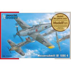 Special Hobby 72439 Messerschmitt Bf 109E-1 1:72 Plastic Model Aircraft Kit