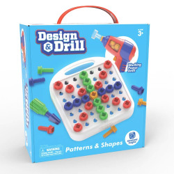 Learning Resources Design & Drill Patterns and Shapes 4108
