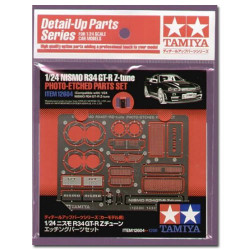 TAMIYA 12604 Gtr Z Tune Photo Etched Parts Set 1:24 Car Model Kit