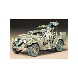 TAMIYA 35125 M151A2 w/Tow Missile 1:35 Military Model Kit