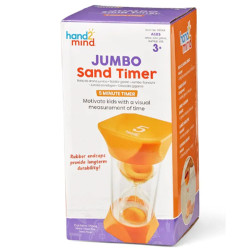 Learning Resources Jumbo Sand Timer - 5-Minute 93068