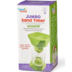 Learning Resources Jumbo Sand Timer - 2-Minute 93067