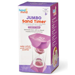 Learning Resources Jumbo Sand Timer - 10-Minute 93069