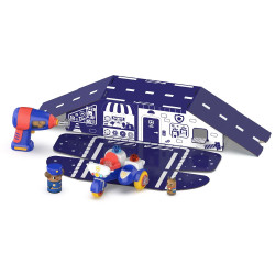 Learning Resources Design & Drill Bolt Buddies Police Motorcycle 4190