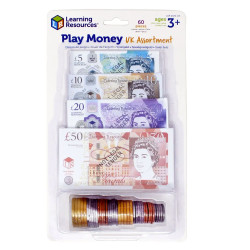 Learning Resources Play Money UK Assortment 2725