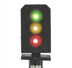 Train Tech Sensor Signal - 3 Aspect Home Distant HO/OO Gauge TTSS3