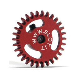 SLOT.IT 30 Teeth Lightened Hex Screw M2 Ergal 16mm SIGA1630E